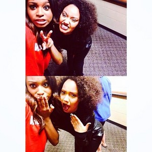 Normani Instagram post of her and Leigh - Anne ❤❤