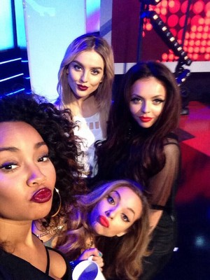Little Mix selfie :)