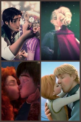 Rise of the Холодное сердце Храбрая сердцем Рапунцель - Запутанная история Драконы Обои called Любовь will thaw