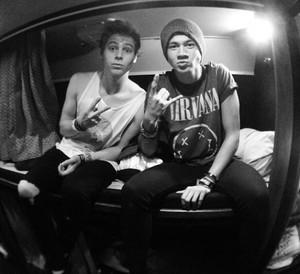 Luke and Calum