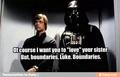 Luke and Vader - star-wars fan art