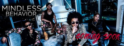 Mindless Behavior wallpaper possibly containing a concert entitled MB With Their Newest Member EJ!
