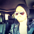 March, 19 - In His Car - chad-michael-murray photo