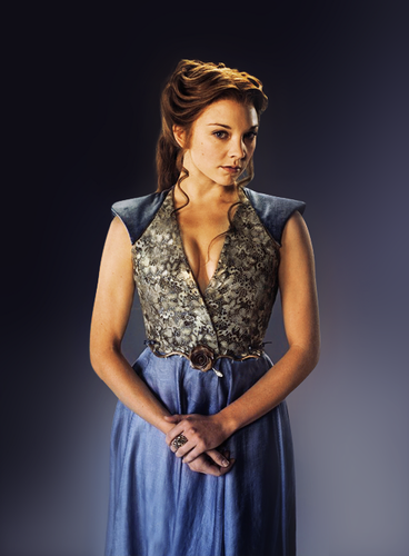 Margaery Tyrell kertas dinding containing a makan malam, majlis makan malam dress and a koktel dress entitled Margaery Tyrell Season 4 Promo (EW)