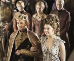 Margaery Tyrell and Joffrey Baratheon Season 4