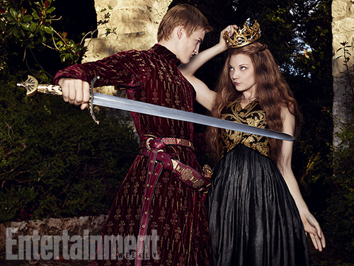 Margaery Tyrell wallpaper entitled Margaery Tyrell and Joffrey Baratheon