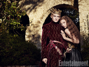 Margaery Tyrell and King Joffrey (Season 4 promo)
