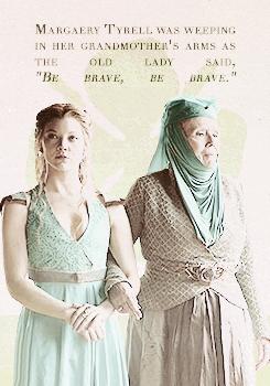 Margaery and Olenna Tyrell