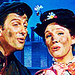 Mary Poppins and Bert - mary-poppins icon