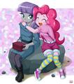 Maud ans Pinkie