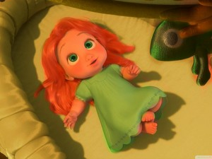 Merida and Hiccup's daughter