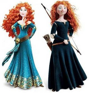 Merida of 2 type