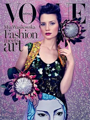 Mia Wasikowska Australia Vogue