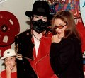 Michael With Former Wife Lisa Marie Presley And Riley Back In 1997