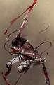 Mikasa Ackerman - anime fan art