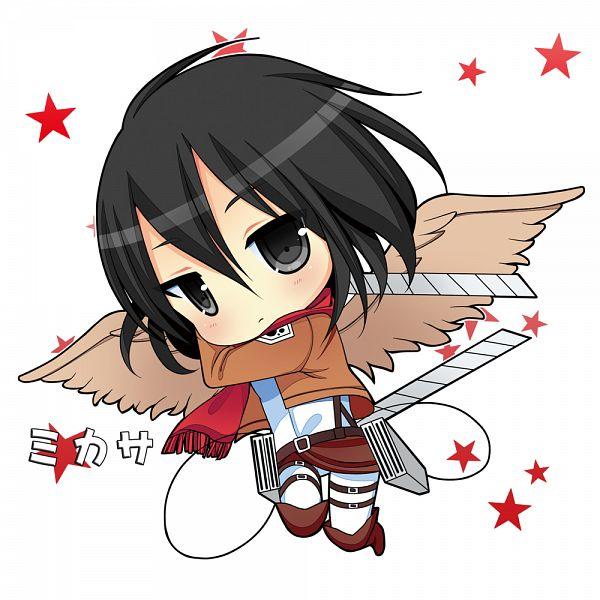 Chibi Mikasa Ackerman ~