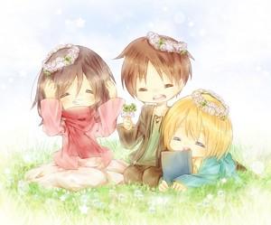 The Happy Trio ~