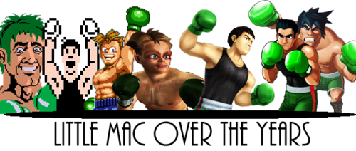 Mike Tyson's Punch Out images Little mac over the years ...