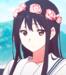 Mitsuki Nase   Flower Crowns - kyoukai-no-kanata icon