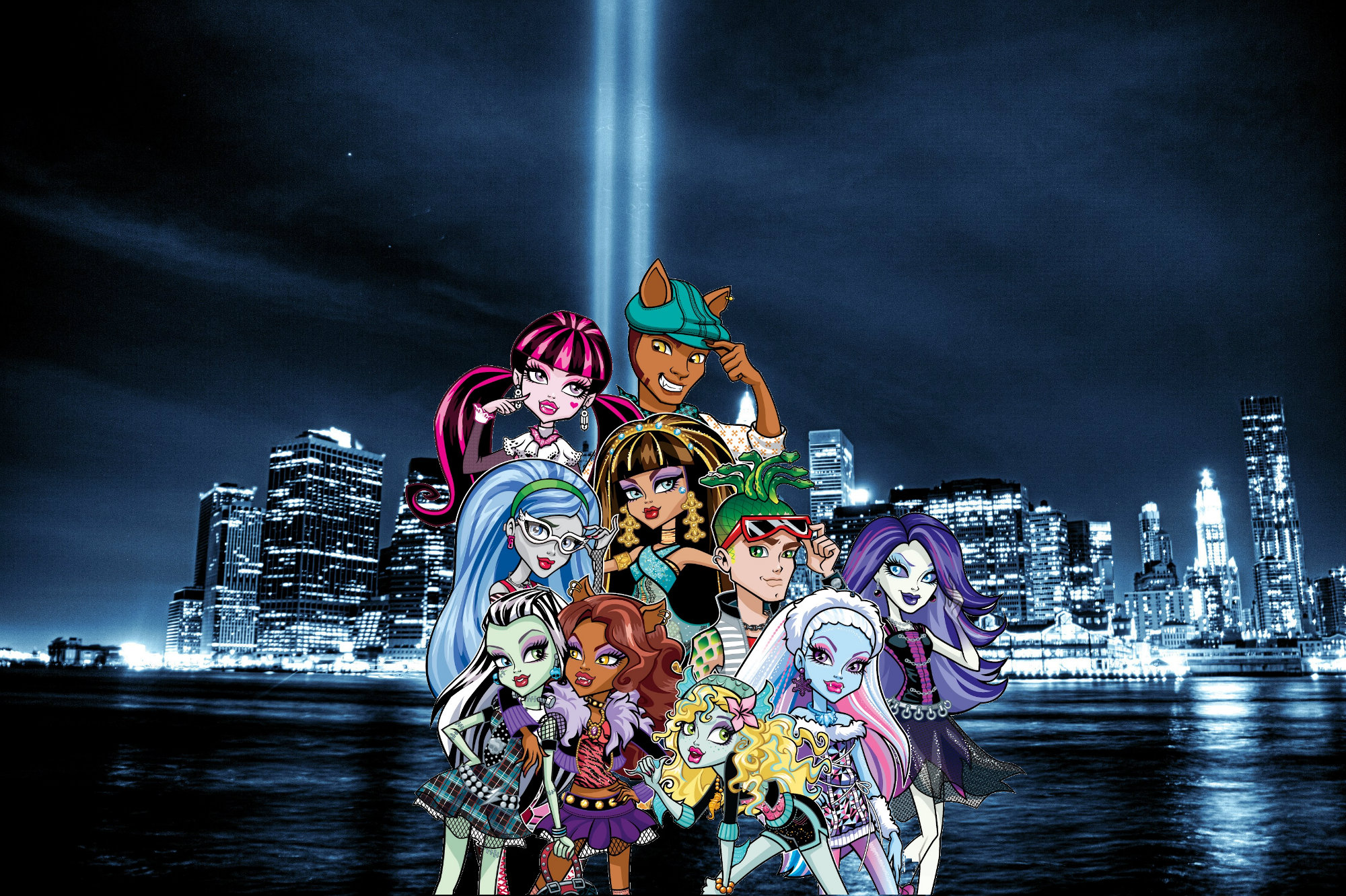 Monster High in the City