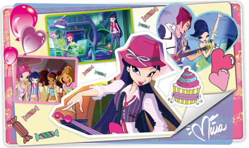 Musa from WINX wallpaper containing Anime titled Musa