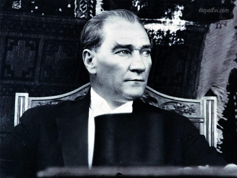 Mustafa Kemal Atatürk( 19 May 1881  – 10 November 1938)