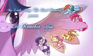 My Little Pony-.it Remeber 你