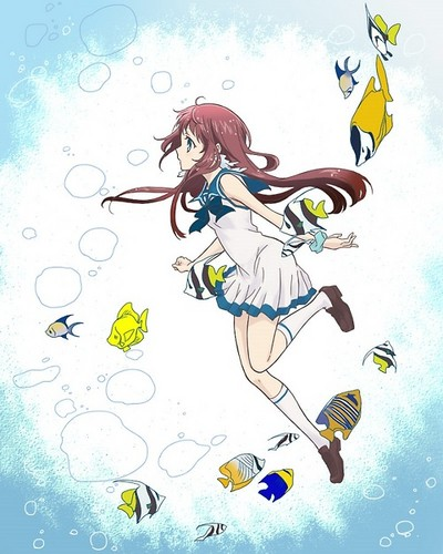 Nagi no Asukara 壁紙 called Manaka Mukaido
