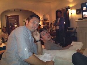 Nathan and Seamus-BTS