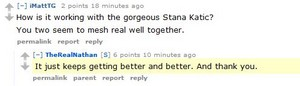 Nathan comment about Stana