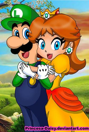 Nintendo پیپر وال probably containing عملی حکمت called luigi and گلبہار, گل داؤدی