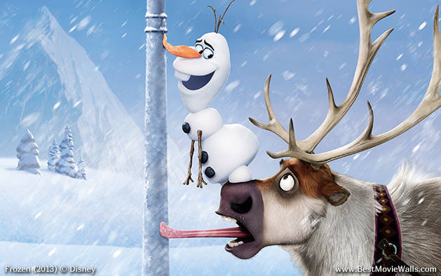 Frozen Images Olaf And Sven Wallpaper Background Photos