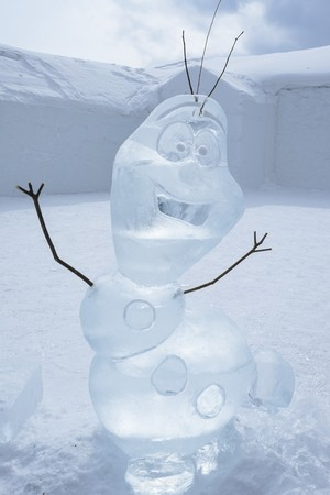 Olaf at the Hotel de Glace