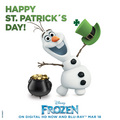 Olaf - Happy St. Patrick's Day