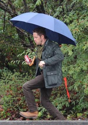 rainy dag on set 3x20