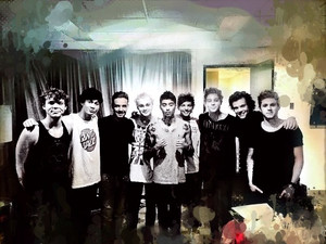 5SOS with One Direction ♥