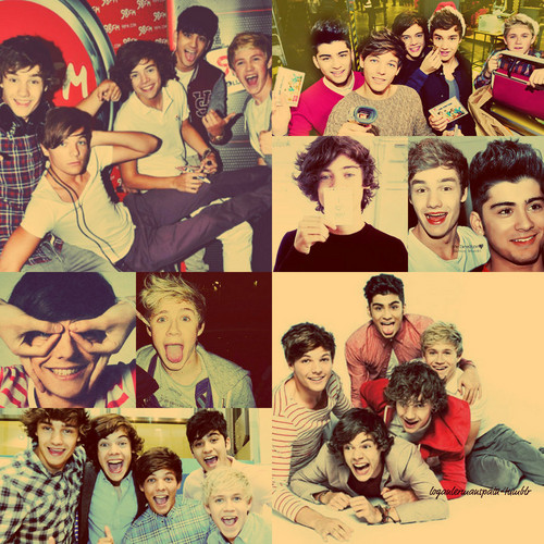 My Friends On Fanpop wallpaper with anime titled One Direction