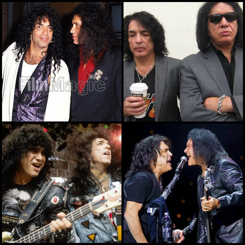 Paul Stanley wallpaper probably containing a business suit and a concerto entitled Paul and Gene