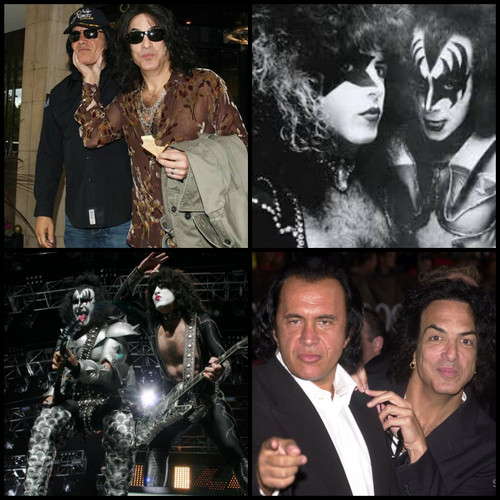Paul Stanley wallpaper containing a business suit titled Paul and Gene