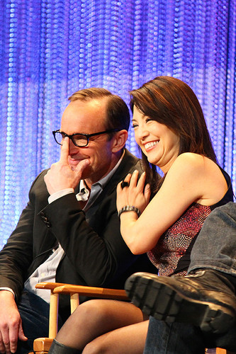 Phil Coulson & Melinda May wallpaper titled Philinda PaleyFest