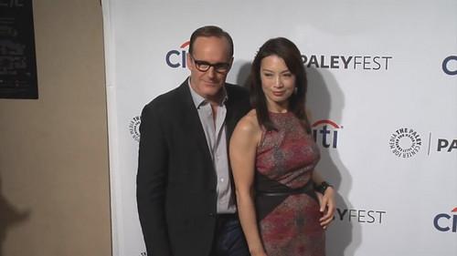 Phil Coulson & Melinda May wallpaper entitled Philinda PaleyFest