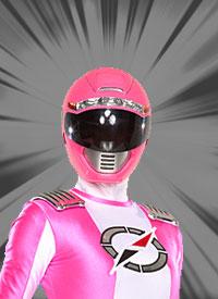 Pink Overdrive Ranger