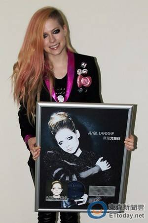 Platinium Certification for ''Avril Lavigne'', Taiwan