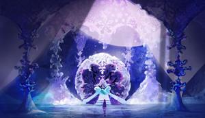 ফ্রোজেন - Ice Palace Concept Art