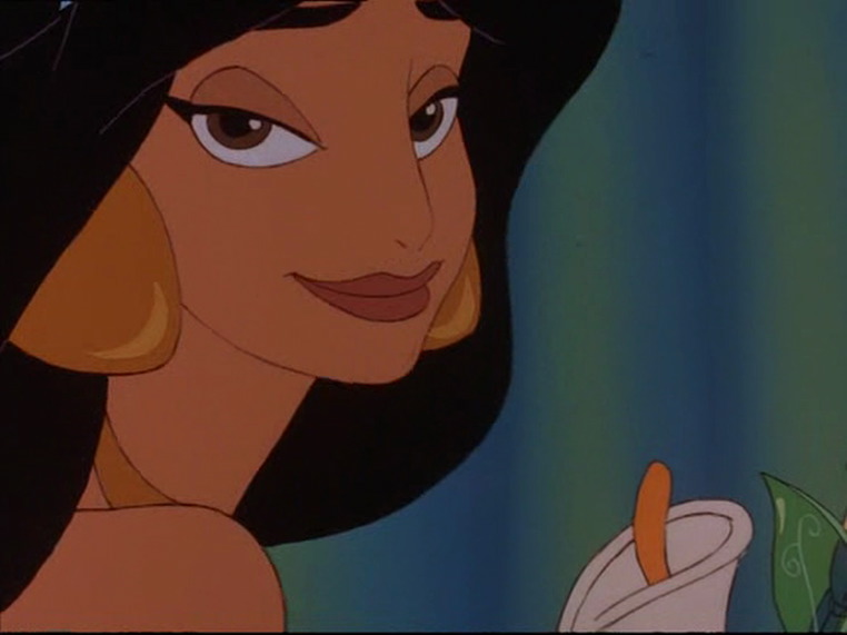 jasmim in The Return of Jafar