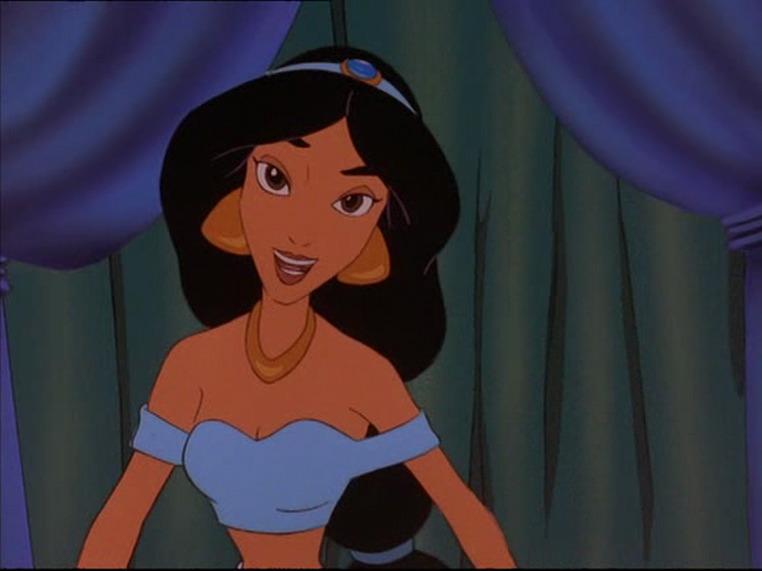 jasmin in The Return of Jafar