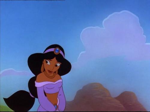 Princess jimmy, hunitumia karatasi la kupamba ukuta called jimmy, hunitumia in The Return of Jafar