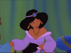 jazmín in The Return of Jafar