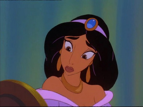 Princess jimmy, hunitumia karatasi la kupamba ukuta called jimmy, hunitumia in The Return of Jafar