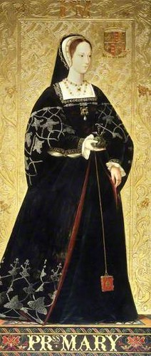 Kings and Queens wallpaper possibly with a surcoat called Princess Mary Tudor